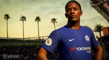 The story mode of FIFA 18 exposes the Nike jerseys of the Chelsea club