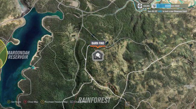 Forza Horizon 3 Barn Find locations guide - VirSale