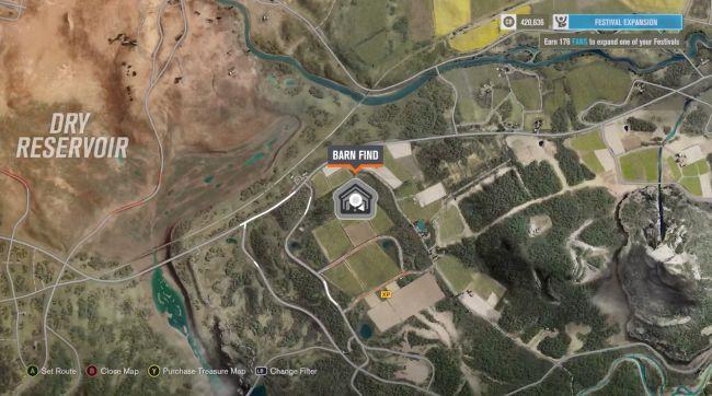 Forza Horizon 3 Barn Find Locations Guide Virsale